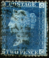 Great Britan,1869,Queen Victoria 2 Pence,plate:15,perf:14 WMK Large Crown,used,as Scan - Used Stamps