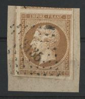 """HAUTES ALPES N° 13 Ba Obl. PC """"3135"""" St Julien En Beauchêne (voir Description Détaillée) - 1849-1876: Classic Period"""