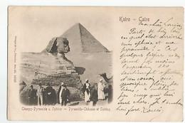 Egypte Le Caire Cheops Pyramide Sphinx Animée - Cairo