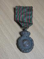DECORATION MEDAILLE RUBAN. SAINTE HELENE 1821. NAPOLEON 1er. - Avant 1871