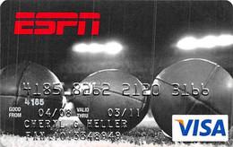 ESPN Visa Credit Card Exp 03/11 - Credit Cards (Exp. Date Min. 10 Years)