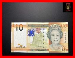 "JERSEY  10 £   2010  P. 34  ""sig. I. Black""   UNC - Jersey"