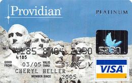 Providian Platinum Visa Credit Card Exp 03/08 - Credit Cards (Exp. Date Min. 10 Years)