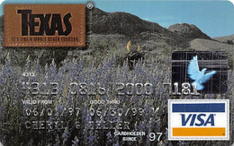 Texas Visa Credit Card Exp 06/30/99 - Credit Cards (Exp. Date Min. 10 Years)