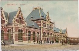 PERUWELZ   La Gare - Douane - Péruwelz