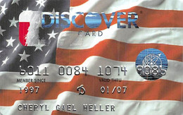 Discover Card Credit Card Exp 01/07 (different Backs) - Credit Cards (Exp. Date Min. 10 Years)