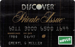 Discover Private Issue Credit Card Exp 06/97 - Credit Cards (Exp. Date Min. 10 Years)