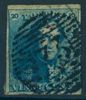 Belgique N°2 - 1849 Epauletten