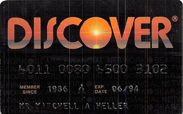 Discover Credit Card Exp 06/94 - Credit Cards (Exp. Date Min. 10 Years)