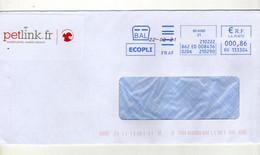 Enveloppe FRANCE Oblitération EMA BEAUNE 22/02/2021 - Freistempel