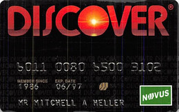 Discover Credit Card Exp 06/97 - Credit Cards (Exp. Date Min. 10 Years)