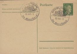 Luxembourg - Luxemburg -  Occupation  1943  Cachet Spécial  Düdelingen Im Moselland - 1940-1944 Occupation Allemande