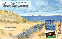 Platinum Private Issue By Discover Credit Card Exp 02/02 - Credit Cards (Exp. Date Min. 10 Years)