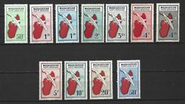 Timbre Colonie Francaises Madagascar  P-a Neuf * N 25/40 Manque Le No 26/34/35/37/38 - Luchtpost