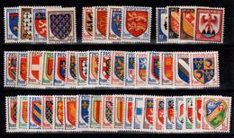 Toutes Les Armoiries De 1943 à 1959 N** Cote 21 Euros - Sonstige