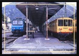66  VILLEFRANCHE  De  CONFLENT  ..     ... Les  Quais  ... Trains - Andere Gemeenten
