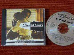 CD BOF/OST - A WORLD APART - HANS ZIMMER - MILAN CD CH 302 - 1991 - Musica Di Film