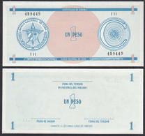 Kuba - Cuba 1 Peso Foreign Exchange Certificates 1985 Pick FX19 UNC (1)  (28797 - Altri – America