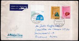 ONU - 1982 - Geneve - Lettre - Cachet Spécial - Par Avion - Envoyé En Argentine - A1RR2 - Covers & Documents