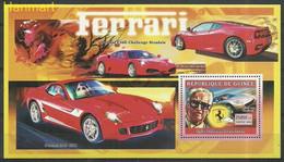 Guinea 2006 Mi Block1076 MNH  (ZS5 GURbl1076) - Auto's
