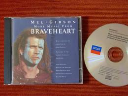 CD BOF/OST - BRAVEHEART MORE MUSIC- MEL GIBSON - James HORNER - 458 287-2 - 1997 - Musica Di Film