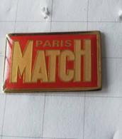 PIN'S -PARIS MATCH - Logo - Medios De Comunicación