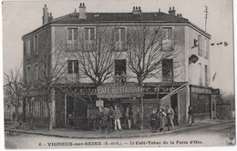 6 - VIGNEUX-sur-SEINE - Le Café-Tabac De La Patte D'Oie - Vigneux Sur Seine