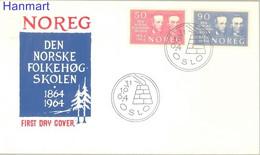 Norway 1964 Mi 522-523 FDC  (FDC ZE3 NRW522-523) - Ohne Zuordnung