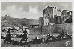 66)    COLLIOURE  - Remaillage Des Filets - Collioure