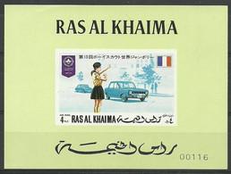 Ras Al Khaimah 1971 Mi Lx 526B MNH  (LZS10 RAKlx526Bb) - Auto's