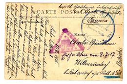 49001 - INTERNES  CIVILS  ILE STE  MARGUERITE - Guerra Del 1914-18