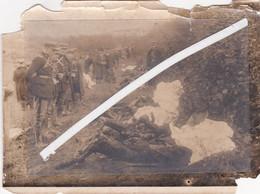 Photo Originale De L'accident D'un Dirigeable Anglais A Alonne Departement 60 , Le 5 Octobre 1930 A 2h40 Du Matin  Expos - Documenti