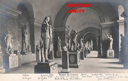 Art Sculpture Statue Cpa Musée Du Louvre Salle Des Saisons - Sculture