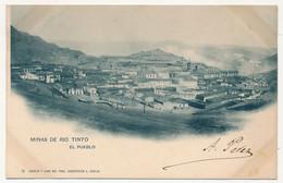 CPA - (HUELVA) - Minas De Rio Tinto - El Pueblo - Huelva
