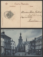 Carte Postale - Binche (SBP N°14) : Rue De L'église / Voyagée - Binche