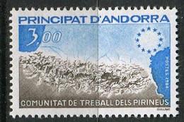 ANDORRE ( POSTE ) : Y&T N°  328  TIMBRE  NEUF  SANS  TRACE  DE  CHARNIERE , A  SAISIR . - Neufs