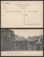 Carte Postale - Carnaval De Binche : Mardi Gras, Gilles En Petite Tenus Avant Midi (F. Bourgeois) - Binche
