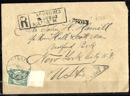 900 - TRANSVAAL - 1895 - COVER TO USA - FORGERIES, FALSES, FALSCHEN, FAUX - Verzamelingen (zonder Album)