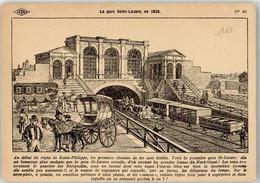52534541 - Sign. Carlier La Gare Saint-Lazare - Non Classés