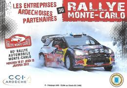 Rallye - MONTE CARLO - 80 - 2012 - Citroën DS 3 WRC - Red Bull Total - LOEB ELENA - - Manifestazioni