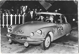 Rallye - MONTE CARLO - 1959 - Citroën ID 19 - COLTELLONI DESROSIERS - Vainqueurs - - 28ème - - Demonstrations