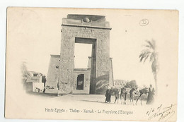 Egypte Le Caire Thebes Karnak Le Polygone D'Evergese - Cairo