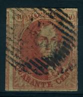 Belgique N°8 - 1851-1857 Medaillons (6/8)