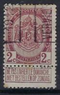 Wapenschild Nr. 82 Voorafgestempeld Nr. 1971 A    VERVIERS 1912 In Goede Staat , Zie Ook Scan ! - Rolstempels 1910-19