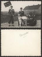 """Carte Postale Type """"Photo-carte"""" - Bruyelle : Défilé, Fête, Folklore (Char) - Antoing"""