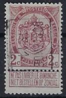 Rijkswapen Nr. 82 Voorafgestempeld Nr. 1722 B    OOSTENDE 1911  ; Staat Zie Scan ! Inzet Aan 15 € ! - Rolstempels 1910-19