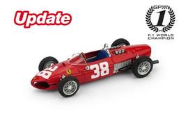 Ferrari 156 - Phil Hill - 3rd GP FI Monaco 1961 #38 - Brumm - Brumm