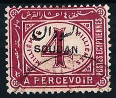 Sudán (Británico) Nº Tasa-2 Usado - Sudan (...-1951)