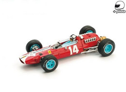 Ferrari 512 F1 - N.A.R.T. - Pedro Rodriguez - 5th USA 1965 #14 - Brumm + Pilote - Brumm