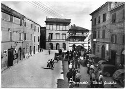 Marrovalle (Macerata). Piazza Garibaldi. - Macerata